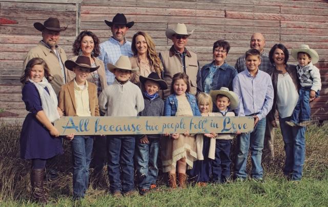Neil & Brenda Duxbury Family 2018